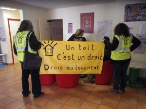 Le DAL 86 au foyer Carrefour à Poitiers