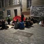 Campement sur le parvis Notre-Dame (065)