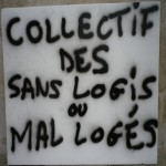 Collectif des sans logis ou mal logés (033)