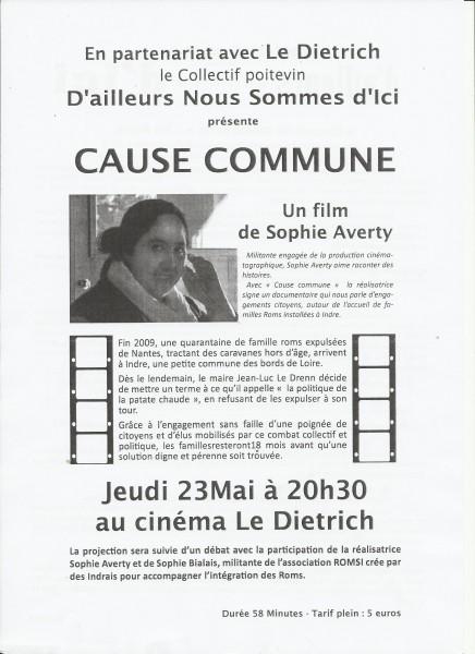 Cause commune : Un film de Sophie Averty